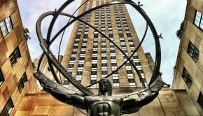 """The Atlas' statue"""