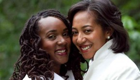 Aisha and Danielle Moodie-Mills were the first same-sex couple featured in a popular wedding profile on Essence.com  Craig Paulson Photography